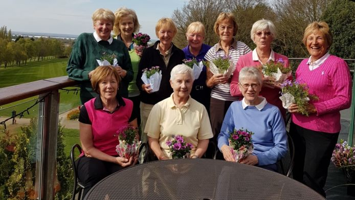 Golf Girls Support Greenfingers Charity