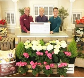 QVC Suppliers Raise £37,000 for Greenfingers Charity