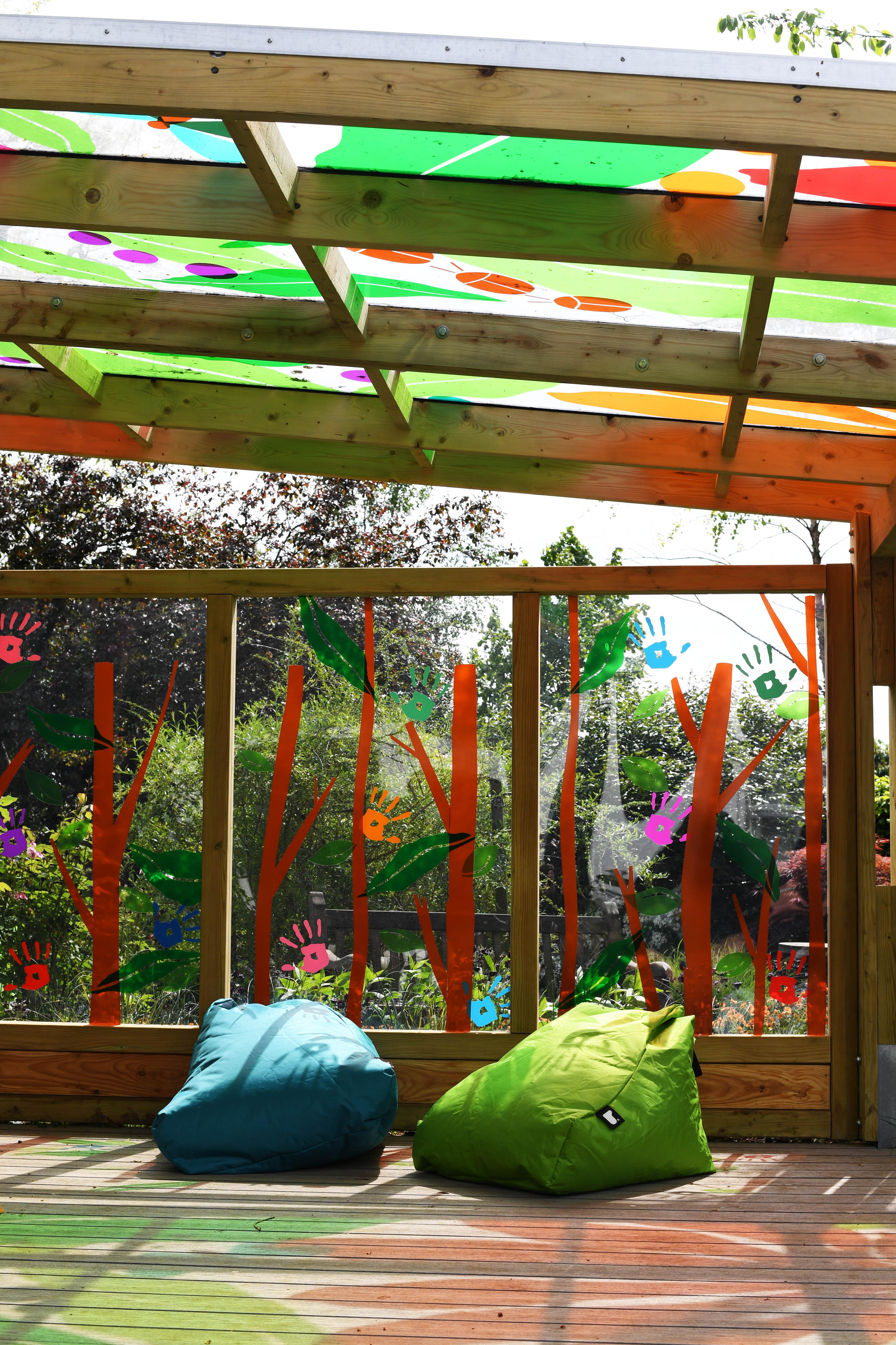 Ann-Marie Powell opens Greenfingers Kaleidoscope Garden in Oxford ...