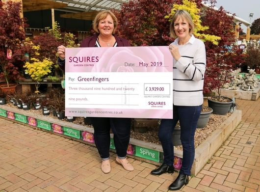 A Fantastic Donation from Squire's Garden Centres