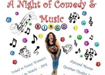 A night of comedy, music and bingo for Greenfingers