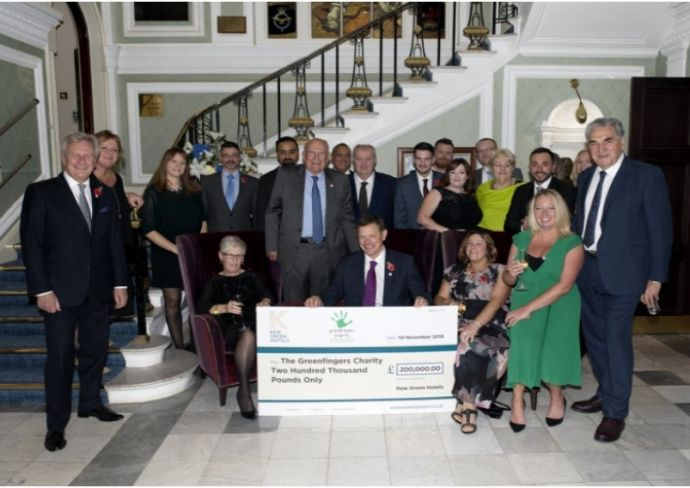 Celebrating Kew Green Hotels' success in raising an amazing £200,000