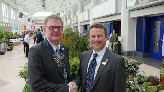 Congratulations to Greenfingers Trustee Boyd Douglas-Davies on his appointment as HTA President