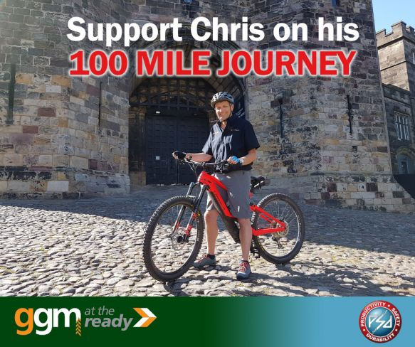 GGM Groundscare's 100 Mile Charity Challenge