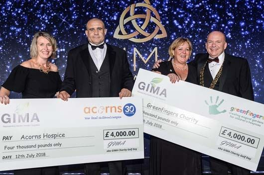 GIMA members raise £4,000 for Greenfingers