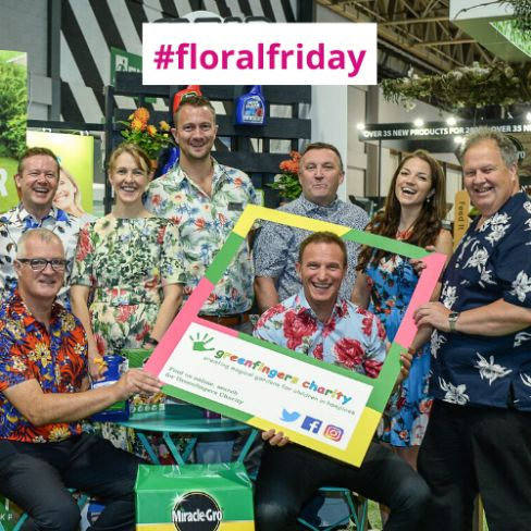 Greenfingers Charity and friends bring a little social media cheer on #floralfriday