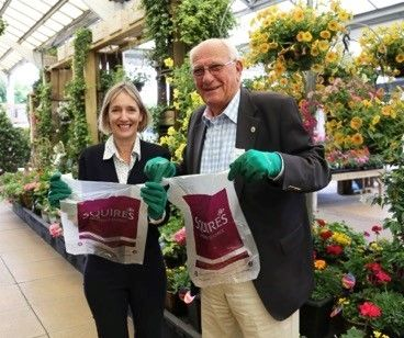 Greenfingers Charity Bags Cash From Squire's