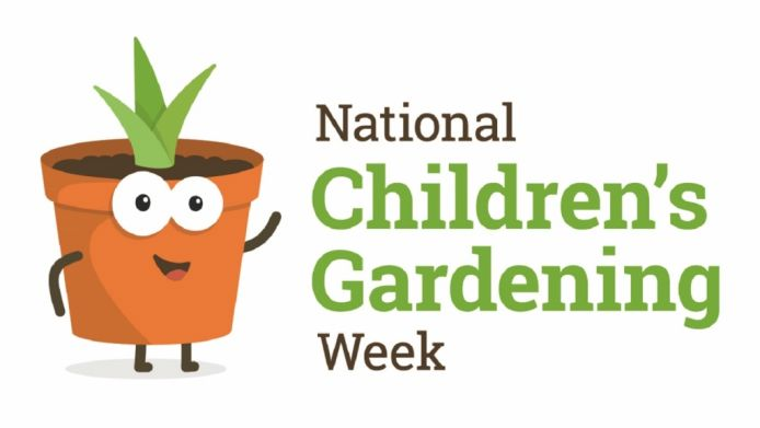Hundreds of garden centres, groups and schools involved in National Children's Gardening Week