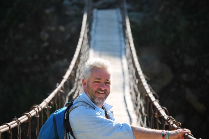 Simon Quinton Smith takes on Kilimanjaro as part of year long challenge for Greenfingers Charity