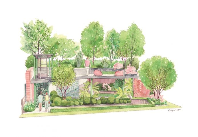 The Greenfingers Charity Garden at the 2019 RHS Chelsea Flower Show