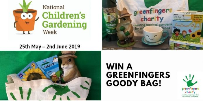 National Children's Gardening Week - Win Greenfingers Goodies