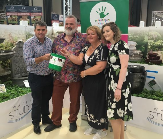 Woodlodge's 'Fountain of Fizz' raffle at Glee raises vital funds for Greenfingers